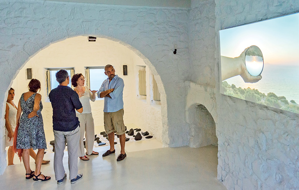 2-kostas-bassanos-falling-2014-installation-a4-paper-stones-ink-and-video-dimensions-variable-photo-by-panos-kokkinias-for-sterna-art-project-2014