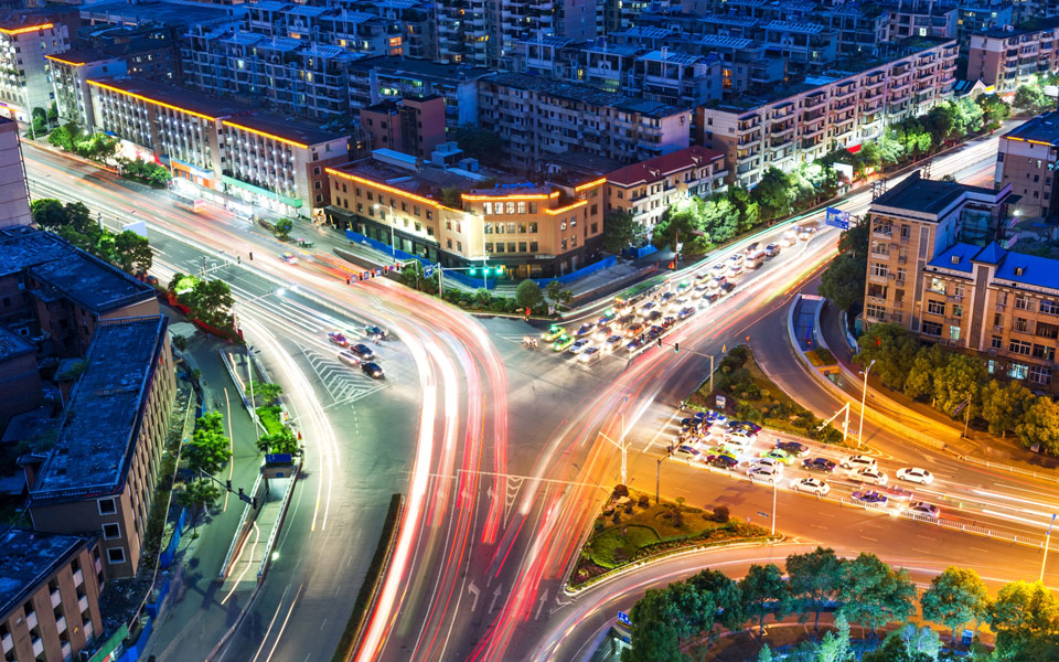 aerial_view_of_city_night