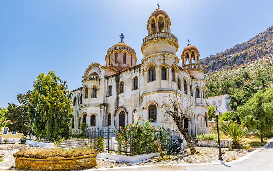 St George of Horafia Church astellorizo