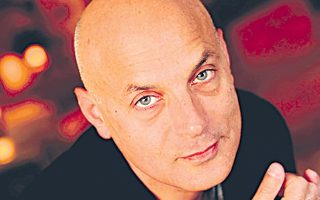 Ο Αμερικανός συγγραφέας Daniel Mendelsohn.
