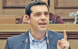Πολυετή επέκταση της λιτότητας και της στασιμότητας για την Ελλάδα διαβλέπει ο πρόεδρος του ΣΥΡΙΖΑ, Αλ. Τσίπρας.