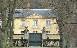 Η προεδρική κατοικία Λα Λαντέρν, κοντά στο ανάκτορο των Βερσαλλιών.