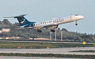 Το αεροσκάφος που μεταφέρει τον Σύρο ΥΠΕΞ στη Γενεύη απογειώνεται χθες το απόγευμα από το αεροδρόμιο «Ελευθέριος Βενιζέλος» της Αθήνας, ύστερα από πολύωρη αναμονή.
