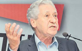 Ο κ. Κουβέλης διένειμε αρμοδιότητες στα μέλη της Εκτ. Επιτροπής.