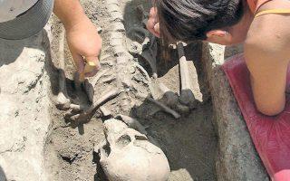 Αρχαιολογικά έργα στην καρδιά της αρχαίας Ρώμης, όπου ανακαλύφθηκαν οστά του 10ου αιώνα π.Χ.