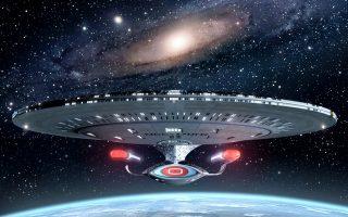 Το διαστημόπλοιο Enterprise από το θρυλικό «Σταρ Τρεκ». Η συναυλία της ΚΟΘ αποκλείεται να απογοητεύσει τους μικρούς και μεγάλους μουσικόφιλους, καθώς περιλαμβάνει αφιέρωμα στο σάουντρακ του «Σταρ Τρεκ» αλλά και αποσπάσματα από τους «Πλανήτες» του Gustav Holst.