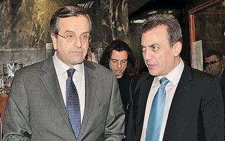Ο πρωθυπουργός, κατά την επίσκεψή του στο υπουργείο Εργασίας (στη φωτ. με τον υπουργό Γ. Βρούτση), τόνισε ότι η ανεργία είναι ο μεγαλύτερος αντίπαλος της ελληνικής κοινωνίας.