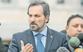 O εκπρόσωπος της συριακής αντιπολίτευσης Λουάι Σάφι.