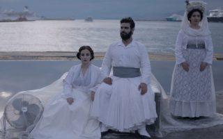 Μαρία Μπαγανά, Κωνσταντίνος Ντέλλας, Eλενα Γεωργίου, γνήσια ελληνικά «βαμπίρ» στο λιμάνι του Πειραιά.