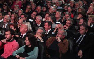 Ο πρόεδρος του ΠΑΣΟΚ Ευάγγελος Βενιζέλος στην πρώτη δημόσια εκδήλωση της κίνησης των «58».