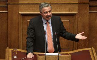 Ο Υπουργός Ενέργειας Περιβάλλοντος και Κλιματικής Αλλαγής Γιάννης Μανιάτης μιλάει  στην Ολομέλεια της Βουλής κατά την  δεύτερη ημέρα της συζήτησης της πρότασης μομφής που κατέθεσε ο ΣΥΡΙΖΑ, Σάββατο 9 Νοεμβρίου 2013 ΑΠΕ-ΜΠΕ/ΑΠΕ-ΜΠΕ/ΑΛΕΞΑΝΔΡΟΣ ΒΛΑΧΟΣ