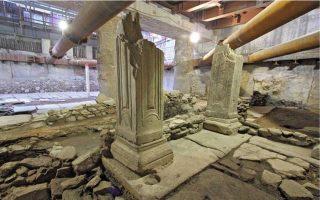 exi-lyseis-gia-tis-archaiotites-toy-stathmoy-venizeloy-sto-metro-thessalonikis0