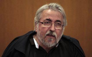 Ο πρόεδρος της ΓΣΕΕ κ. Γ. Παναγόπουλος.