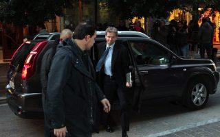 Ο εκπρόσωπος του ΔΝΤ στην Τρόϊκα Πολ Τόμσεν. (Photo: Αλέξανδρος Μπελτές, ΑΠΕ - ΜΠΕ).