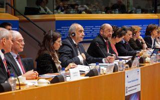Ο Ευ. Μεϊμαράκης  εγκαινίασε την κοινοβουλευτική διάσταση της Ελληνικής Προεδρίας του Συμβουλίου της ΕΕ στις Βρυξέλλες