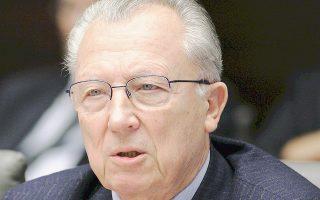 Ο πρώην πρόεδρος της Ευρωπαϊκής Επιτροπής Ζακ Ντελόρ έρχεται στην Αθήνα για το συνέδριο που διοργανώνουν η «Κ» και το Le Nouvel Observateur, με τίτλο «Τολμήστε τη Δημοκρατία», στις 6 και 7 Φεβρουαρίου.