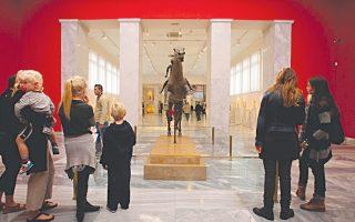 Το Εθνικό Αρχαιολογικό Μουσείο εξακολουθεί να έχει εικόνα παρακμής.
