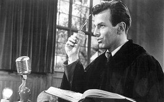 O Μαξιμίλιαν Σελ στη «Δίκη της Νυρεμβέργης» (1961). Από τους πιο δημοφιλείς μη αγγλόφωνους ηθοποιούς του αμερικανικού σινεμά.