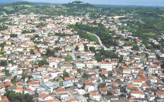 Αποψη της πόλης του Σουφλίου, κέντρου του ελληνικού μεταξιού από τον 19ο αιώνα.