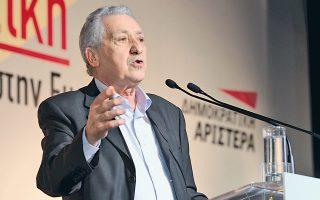 Εντονα ενοχλημένος φέρεται ο κ. Φ. Κουβέλης με δημοσιεύματα που τον ήθελαν να ενδιαφέρεται για τη θέση του Προέδρου της Δημοκρατίας.