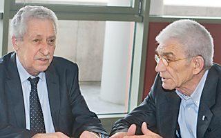 «Η υποστήριξη της ΔΗΜΑΡ είναι όχι απλώς καλοδεχούμενη, είναι ανάσα», ανέφερε ο Γ. Μπουτάρης στη συνάντησή του με τον Φ. Κουβέλη.
