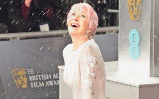 Την περασμένη Κυριακή στα BAFTA, η Ελεν Μίρεν βραβεύθηκε για το σύνολο της προσφοράς της στον κινηματογράφο και στην τηλεόραση.