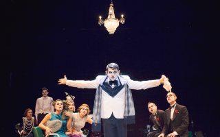 Ο Μιχάλης Οικονόμου στον ρόλο του κυρίου Πόνζα, στο «Ετσι είναι, αν έτσι νομίζετε».