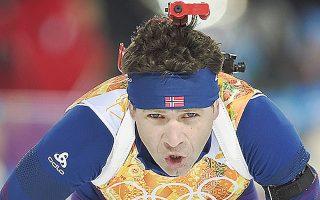 Ο πρωταγωνιστής της χθεσινής ημέρας των Χειμερινών, Ολε Εϊνάρ Μπιορντάλεν.