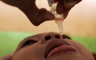 Εκστρατεία εμβολιασμού κατά της πολιομυελίτιδας, στην Τζακάρτα, το 2006.