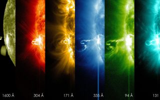Οι φωτογραφίες που έδωσε στην δημοσιότητα η Ευρωπαϊκή Διαστημική Υπηρεσία απεικονίζουν διαδοχικές φάσεις από ηλιακές εκλάμψεις. Οι ηλιακές εκρήξεις παρακολουθούνται στενά τόσο από την ESA όσο και από την ΝASA( Solar Dynamics Obserbatory, SDO), διότι όταν είναι πολύ ισχυρές είναι ικανές να επηρεάσουν τις τηλεπικοινωνίες. EPA/NASA / SDO