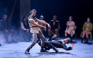 Η «Ιλιάδα» σε σκηνοθεσία Στάθη Λιβαθινού επαναλαμβάνεται για εννέα παραστάσεις στο θέατρο «Χώρα».