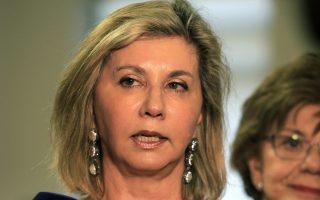 Η υφυπουργός Υγείας, Ζέττα Μακρή.