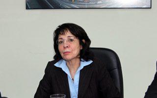 Η επίτροπος Θαλάσσιων Υποθέσεων και Αλιείας, Μαρία Δαμανάκη.