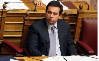 O υφυπουργός Ανάπτυξης και Ανταγωνιστικότητας, Νότης Μηταράκης.