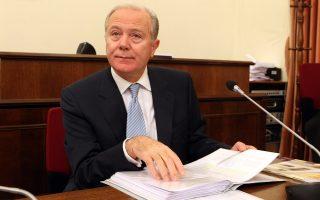 Την διαρκή επιτροπή οικονομικών υποθέσεων της Βουλής ενημερώνει για την Ενδιάμεση Έκθεσης της Τράπεζας της Ελλάδος για τη Νομισματική Πολιτική του 2012 ο Διοικητής της Τράπεζας της Ελλάδος, Γεώργιος Προβόπουλος, Τετάρτη 12 Δεκεμβρίου 2012. ΑΠΕ-ΜΠΕ/ΑΠΕ-ΜΠΕ/Παντελής Σαίτας