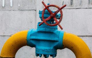 Αγωγός φυσικού αερίου στα περίχωρα του Κιέβου. Η Ε.Ε. θα διαθέσει δύο δισ. δολάρια στην Ουκρανία για να αποπληρώσει το χρέος της στην Gazprom.