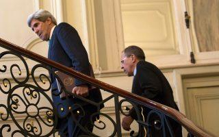 Ανηφορικό δρόμο έχουν να διανύσουν οι επικεφαλής της αμερικανικής και της ρωσικής διπλωματίας, Τζον Κέρι και Σεργκέι Λαβρόφ, προκειμένου να βρουν έναν ελάχιστο κοινό παρονομαστή στο ουκρανικό πρόβλημα.