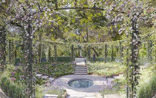 Το ισπανικό αναβρυτήριο στον Εθνικό Κήπο μετά την προτεινόμενη ανάπλασή του.