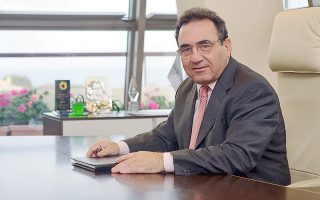 Ο πρόεδρος της Συνεταιριστικής Τράπεζας Χανίων, κ. Μιχάλης Μαρακάκης.