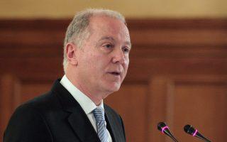 Ο διοικητής της Τράπεζας της Ελλάδος κ. Γ. Προβόπουλος.