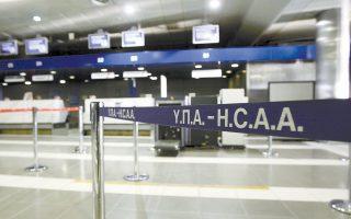 «Μπλόκο» στην ξενάγηση εκπροσώπων της ΜΕΤΚΑ, της AEGEAN και μιας εταιρείας από την Αργεντινή στο αεροδρόμιο «Μακεδονία» επιχείρησαν να βάλουν την περασμένη Δευτέρα, για άλλη μια φορά, οι συνδικαλιστές της Ομοσπονδίας Συλλόγων Υπαλλήλων Πολιτικής Αεροπορίας.