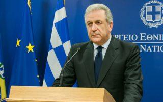 Ο κ. Αβραμόπουλος συναντήθηκε με τον κ. Σάφα στο υπουργείο Αμυνας πριν από δύο εβδομάδες.