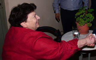 Η ενδυματολόγος Ιωάννα Παπαντωνίου.