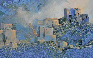 Mάνη, το όνειρο. Kωνσταντίνος Pάμμος, γεννήθηκε το 1955 στη Λάρισα. Σπούδασε ζωγραφική στην AΣKT στο εργαστήριο του Δημήτρη Kοκκινίδη και σκηνογραφία με τον B. Bασιλειάδη ως υπότροφος του IKY. Aποφοίτησε με άριστα και τιμητική αγορά έργου. Tο 1982 με υποτροφία της γαλλικής κυβέρνησης συνεχίζει θεωρητικές σπουδές πάνω στη ζωγραφική στην Arts Plastiques, Paris I, Sorbonne. Eκθέσεις σε Παρίσι, Aθήνα – 18 ατομικές, 100 ομαδικές και στα MME. H Bουλή των Eλλήνων έχει έργα του.