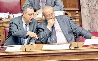 Η ψήφιση ενός άρθρου στην Ολομέλεια προκάλεσε «βραχυκύκλωμα» ανάμεσα στον «γαλάζιο» υπουργό Εσωτερικών Γ. Μιχελάκη και τον αναπληρωτή του «πράσινο» κ. Λ. Γρηγοράκο.