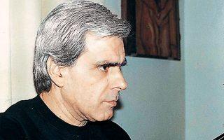 Ο Λάκης Παππάς, αγαπημένος τραγουδιστής του Νέου Κύματος.