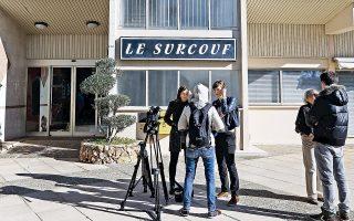 Η πολυκατοικία όπου συνελήφθη ο 23χρονος Ιμπραήμ στην περιοχή Mandelieu La Napoule, κοντά στις Κάννες. Στο διαμέρισμα όπου διέμενε, άνδρες της Κεντρικής Υπηρεσίας Πληροφοριών (DCRI) της Γαλλίας εντόπισαν 900 γρ. εκρηκτικής ύλης TATP μέσα σε τρεις αυτοσχέδιες χειροβομβίδες.