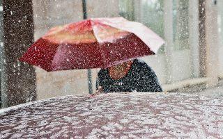 Η Ηπειρος ήταν από τις πιο ευνοημένες περιοχές, καθώς εκεί έβρεξε πολύ.