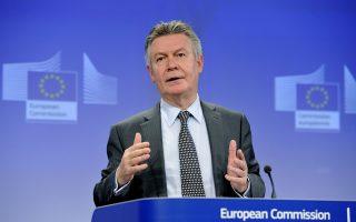 Ο επίτροπος Εμπορίου της Ε.Ε., Κάρελ ντε Γκουχτ