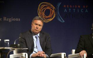 Ο Περιφερειάρχης Αττικής Γιάννης Σγουρός στην 6η Ευρωπαϊκή Διάσκεψη Περιφερειών και Δήμων, στο Μέγαρο Μουσικής Αθηνών